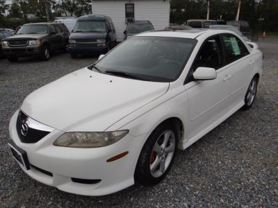 2004 Mazda Mazda6 s (Performance White)