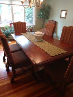 Ashley 8 piece Dining Room Set