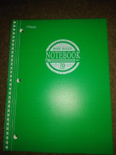New mead notebook