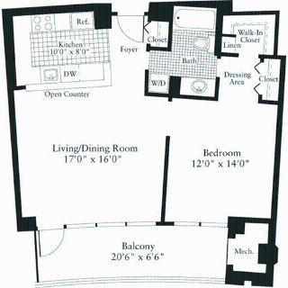 1 bedroom in Arlington