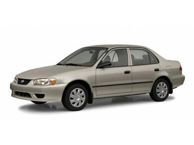 2002 Toyota Corolla S (Beige / Tan)
