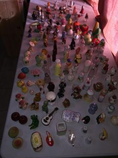 155 miscellaneous salt or pepper shakers old
