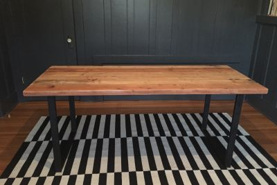 Recalimed wood Dining Table