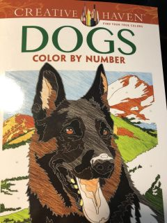 Color by number Dogs