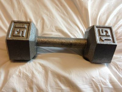 15lb dumbbell weight