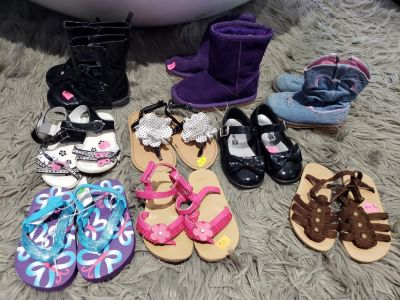 Size 6 Toddler Girls Shoes