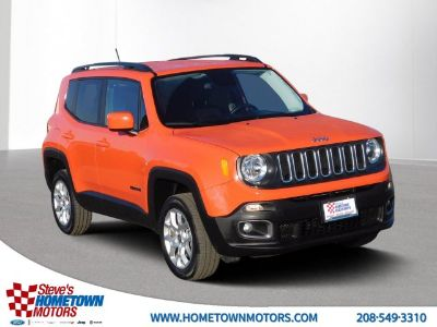 2017 Jeep Renegade Latitude (Orange)
