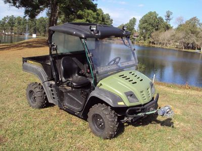 Excellent Cub Cadet 4x4 diesel side by side utility vehicle