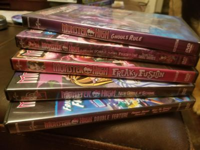 5 Monster High movies