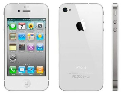 White 16g iPhone 4, no scratches no cracks white