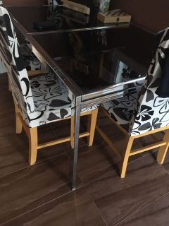 Kitchen table, extendable