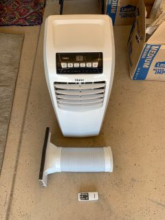 Haier 6,000 BTU Portable Air Conditioner w/remote