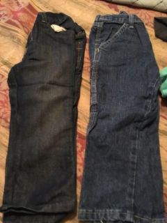 2pairs of 3t Wrangler jeans