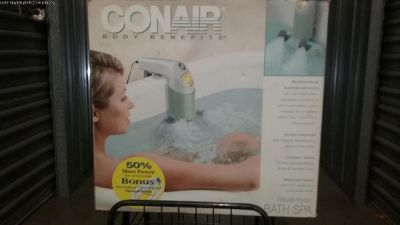 Conair Body Benefits DELUXE HYDRA BATH SPA