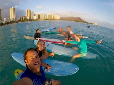 Enjoy Yoga Sessions in Hawaii Surf Camps