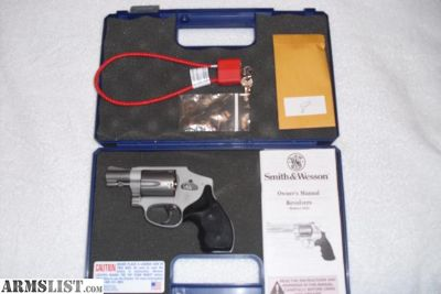 For Sale: S & W 642 Airweight 38 Special