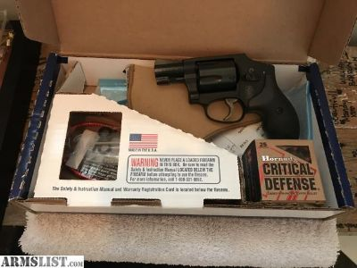 For Sale/Trade: Brand new S&W .38 airweight
