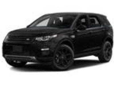 Used 2016 LAND ROVER Discovery Sport For Sale