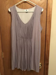 Women's lavender dress, Old Navy, size L, only worn once