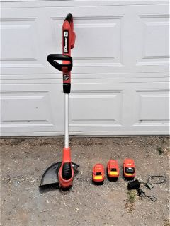 WEED EATER Black And Decker CORDLESS 18V