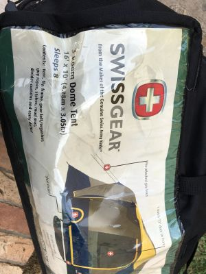 Swiss Gear 8 person Tent