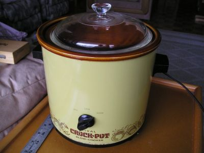 SLOW COOKER WITH BREAD & CAKE PAN