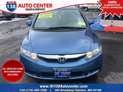 2009 Honda Civic EX (Atomic Blue Metallic)