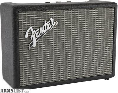 For Sale: Fender Monterey Bluetooth Speaker, Black 6960200000