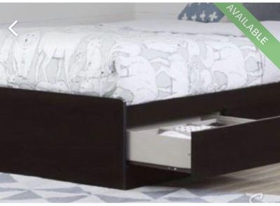 Twin bed with 2 drawers - LIKE NEW!!!