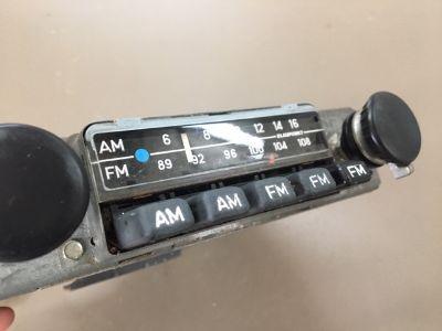 Blaupunkt Frankfurt AM-FM radio, US buttons, blackplate