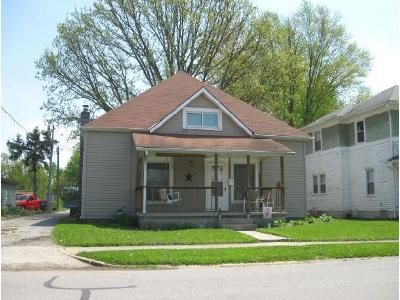4 Bed 1 Bath Foreclosure Property in Rushville, IN 46173 - N Perkins St