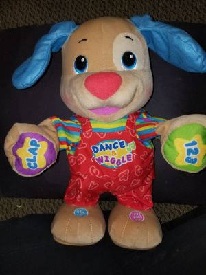 Fisher Price Dance and Giggle puppy