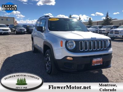 2017 Jeep Renegade Sport (Glacier Metallic)