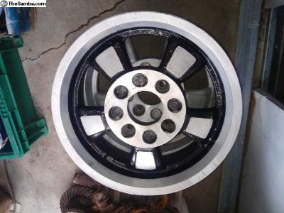2 Like New VW Riveria Alloy Wheels