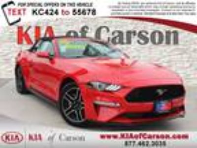 Used 2018 Ford Mustang Red, 46.3K miles