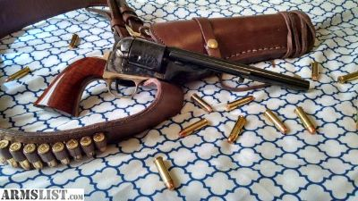 For Sale: Cimarron 1872 Open-Top with Holster