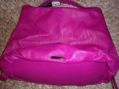 New ladies pink Rampage leather shoulder HANDBAG PURSE women fashion