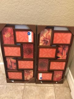 8 opening picture frames