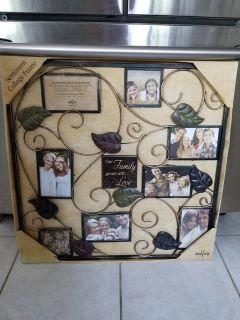 Picture collage wall frame