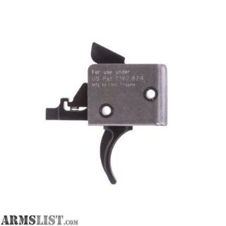 For Sale: CMC Triggers Corp, 2-Stage Small Pin Curved Trigger, Match Trigger, Black Finish 91502