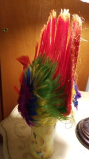 Mohawk multi colored hat for Halloween or crazy hat day