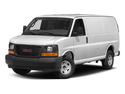 2018 GMC Savana Cargo Van Work Van (Summit White)