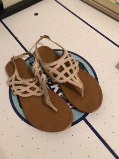 Baby book and women's sandals