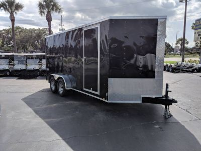 2020 Cargo Express XLW7X16TE2 Extra Tall Cargo Trailers Fort Pierce, FL