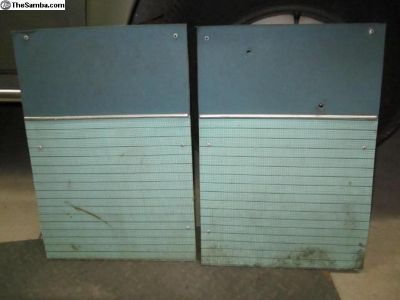 original bench seat panels