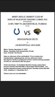 Jaguars vs Colts NFL Dec 9th