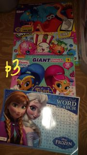 Large activity or coloring books all new