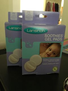 2 boxes Lansinoh Soothies Pads