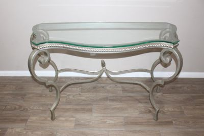 Gorgeous Metropolitan Console Table/ hallway table