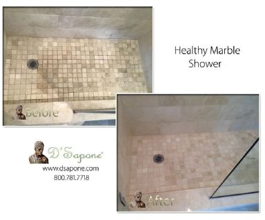 Marble Shower Restoration Service (Cleaning,Polishing,Sealing)